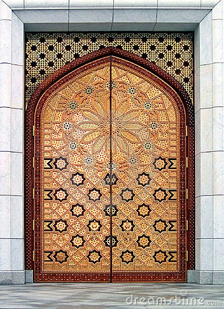 Door (the Kiptchak mosque in Turkmenistan)