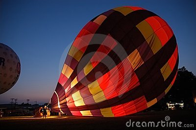Balloon at Night