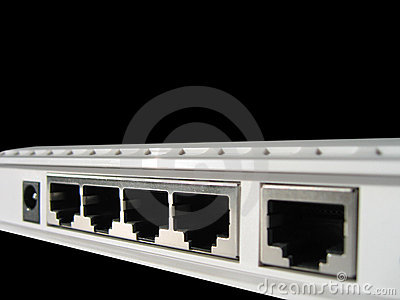 Wireless router ports