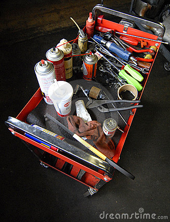 Mechanic Work Cart