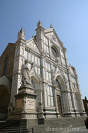 Church of basilica Santa Croce