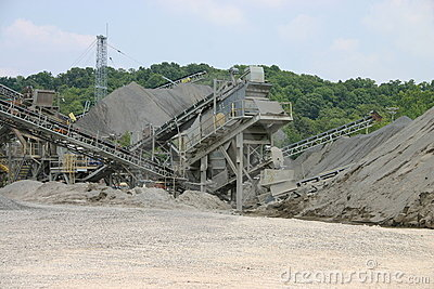 Quarry construction converyors