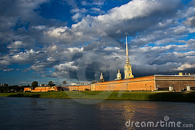 The Peter and Paul Fortress, Saint Petersburg
