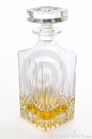 Liqueur elegant bottle