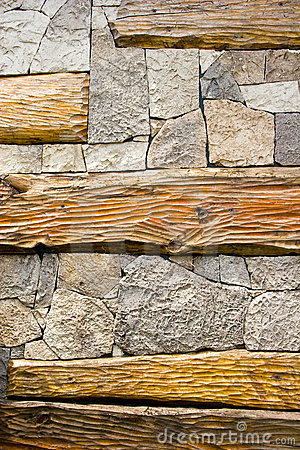 Stone and wooden textures