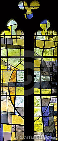 Stained-glass window 109