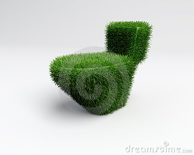Grass toilet idea