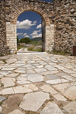 The Old Gate Of Monastery Studenica