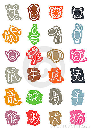 chinese astrology Icons