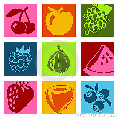 Fruits icons 1