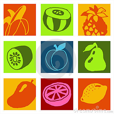 Fruits icons 2