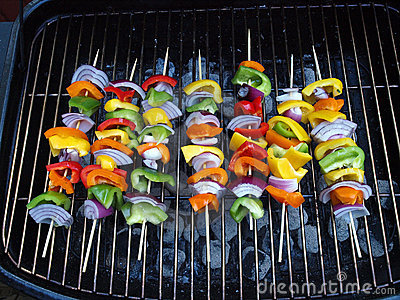 BBQ Vegetable Kabob