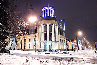 Night Dnepropetrovsk