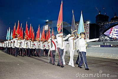 Singapore National Day Parade Rehearsal