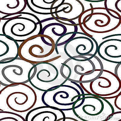 Abstract twist-line background. Seamless.