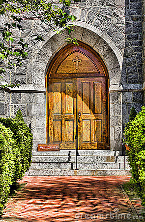 Church Door Entrace