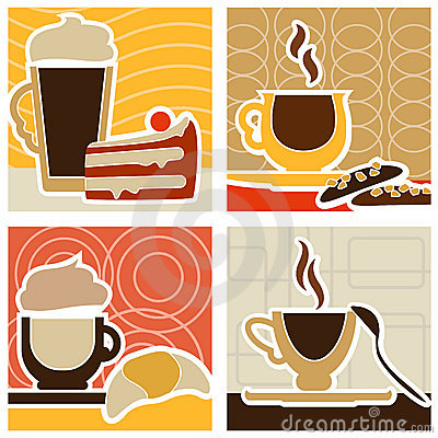 Coffee and sweet design