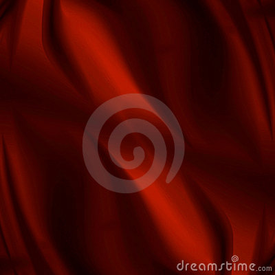 Red drapery