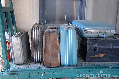 Old Train Station Luggage