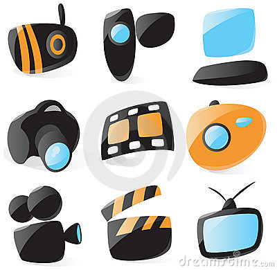 Smooth media device icons
