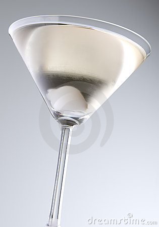 Dry Martini With Pearl Onion