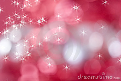 Sparkly red background for christmas