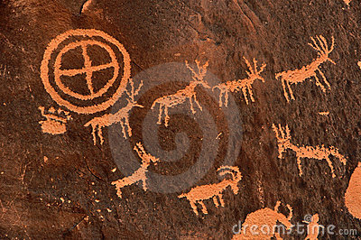Ancient Indian Petroglyph