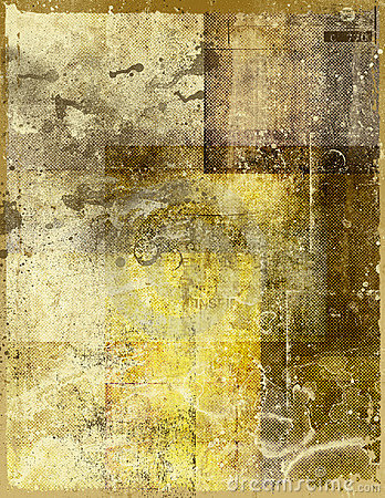 Stained old paper