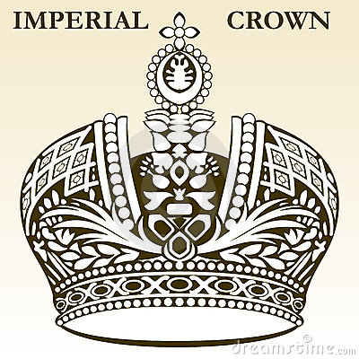 Imperial crown white