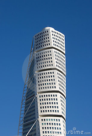 The top of Turning Torso