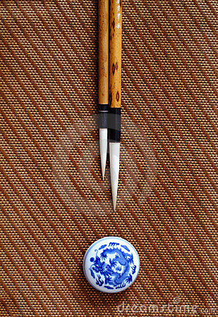 Chinese writing brush