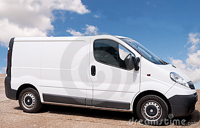 Small white Van