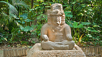 Olmec sculpture