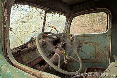 Old Truck Interior