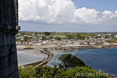 The View from St Michaels Mount