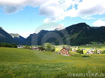 Gosau village