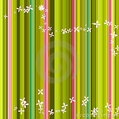 Green stripe background