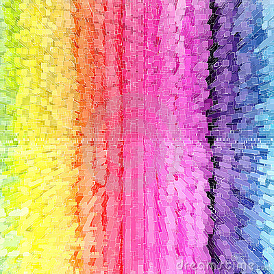 Rainbow color abstract
