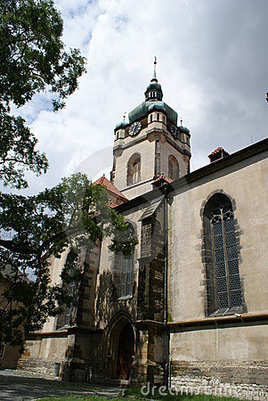 St. Peter's and Paul's Cathedral in Melnik