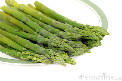 Cooked asparagus