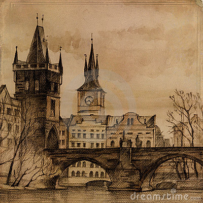 Charles Bridge in art