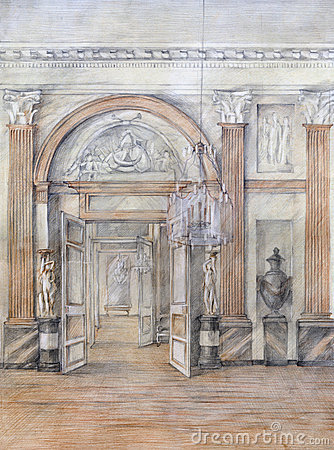 Drawing interior