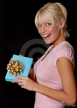 Lovely Girl With A Gift