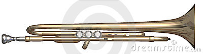 Trumpet top side