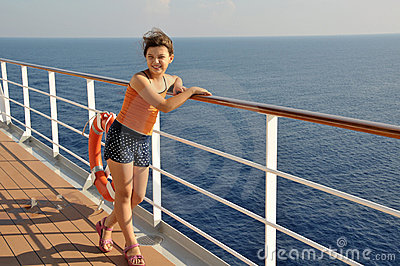 In cruise