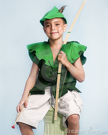 Little boy Robin Hood