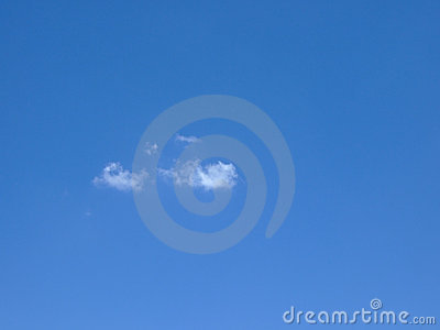 Sky with Little Cloud