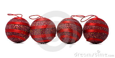 Four red balls