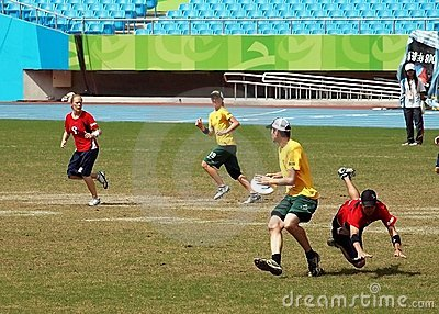 Flying Disc Competition - Australia versus England