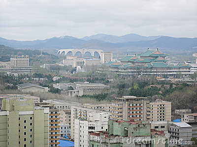 Pyongyang, in North Korea.